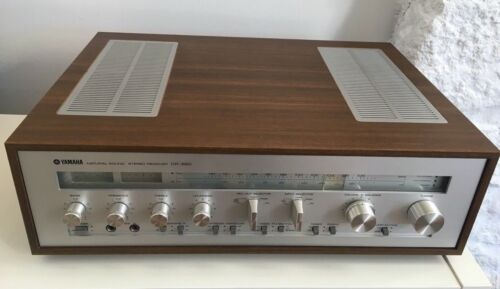 Yamaha CR 820 natural sound stereo receiver vintage
