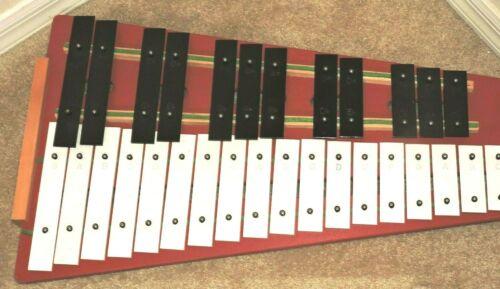 Vintage Student RHYTHM BAND  Xylophone Rhythm Band Inc Korea 30 Keys