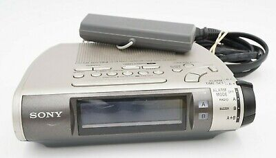 Sony ICF-C255RC AM/FM Alarm Clock Radio Dream Machine w Radio Controlled Antenna