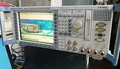 Rohde Schwarz Cmu200 1100.0008.02 Universal Radio Communication Tester