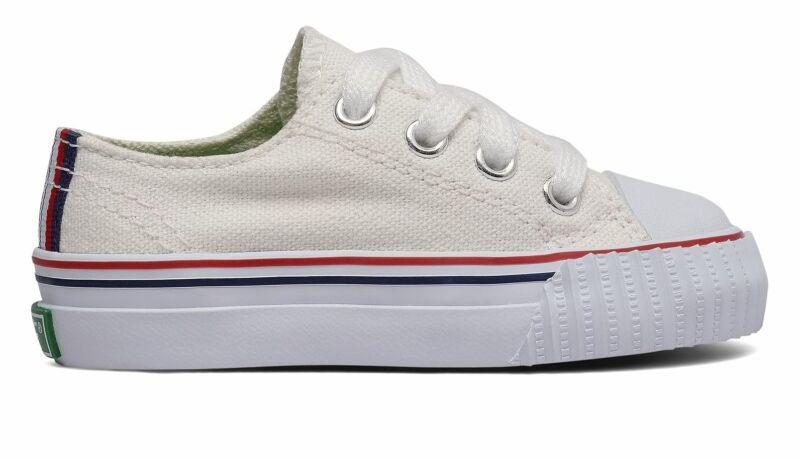 PF Flyers Infant Center Lo Shoes White Size