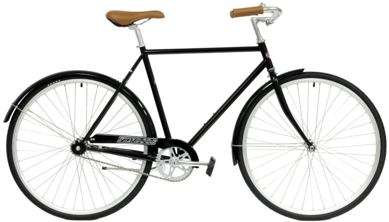 WINDSOR ESSEX 51c BLUE MENS CITY COMMUTER URBAN BICYCLE