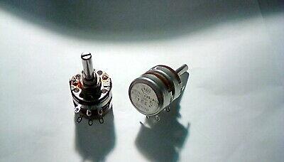 1pc. Dual 500k500k Linear Allen Bradley 2 Watt Potentiometer