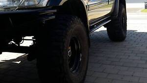 """35"""" Federal Muddies on 15x8 Dynamic wheels set of 5.  35/12.5/15 Golden Bay Rockingham Area Preview"""