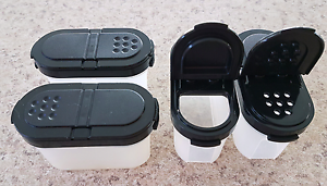 Tupperware Spice Containers In Excellent Used Condition Yarrawarrah Sutherland Area Preview