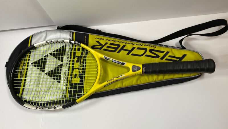 FISCHER PRO Extreme air carbon Ti 4 1/2 With Case NEW GRIP