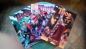 THOR-3-Vol-MARVEL-Straczynski-USA-Fumetto-Comics-Originali-Lotto-Ottimo
