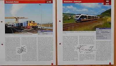 + Das große Archiv der Eisenbahnstrecken - 5 Strecken zum Aussuchen aus Liste +