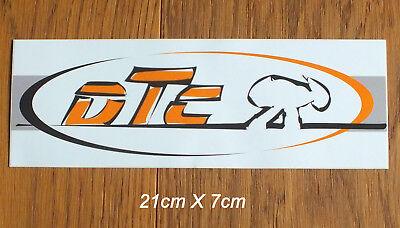 DTC Longboards Skateboard Sticker Aufkleber Longboard Downhill Streetsurf (S226)