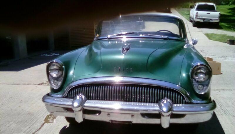 Unrestored 1954 buick 2 door Super riviera. Strong runner, about 56,000 miles.