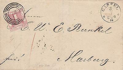 Thurn und Taxis, Brief aus Cassel nach Marburg, Michel Nr. 38