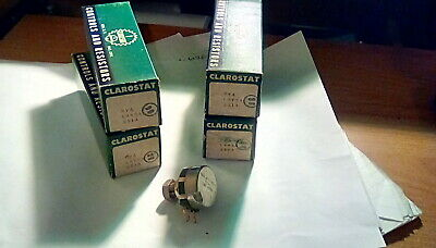 Clarostat Rv4laysa251a 250 Ohm-2watt Linear Potentiometer