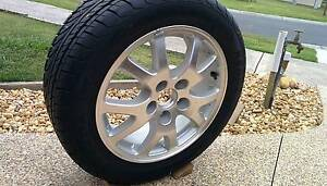 Honda Civic Alloy wheel with tyre 205/55ZR16 Koo Wee Rup Cardinia Area Preview