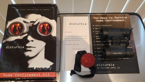 RARE Disturbia Movie Promo Home Confinement Kit Binocular Shia LaBeouf New 2007