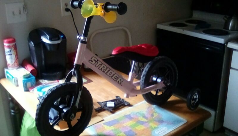 Ba!ance bike for toddlers with training wheels