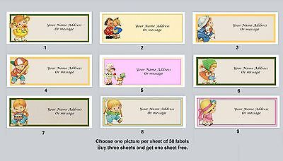 Personalized Return Address Labels Primitive Country Buy 3 Get 1 Free Pc 12