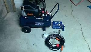 2.5hp air compressor with 10m hose,bought 2 months ago,used once! Kingsford Eastern Suburbs Preview