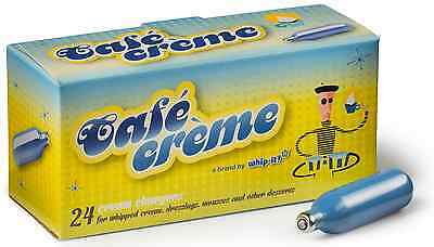 120 Whip Cream Chargers Nitrous Oxide N2O FREE SHIP CAFE CREME 8G GRAM NEW
