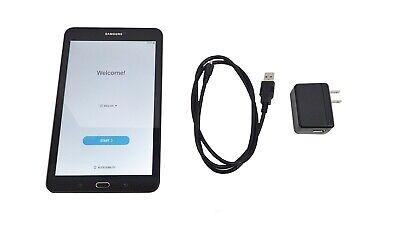 "Samsung Galaxy Tab E 8"" SM-T377A 16GB AT&T 4G Wi-Fi - Black"