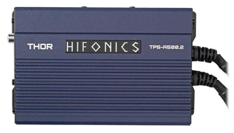 Hifonics TPS-A500.2 500w 2-Channel Marine Amplifier For Polaris RZR/ATV/UTV/Cart