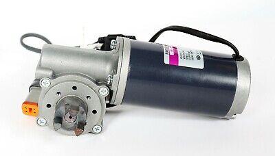 Spg 24v Right Angle Dc Worm Geared Motor 3.2a 3200 Rmin 151 Ratio Ra61b15r-a30