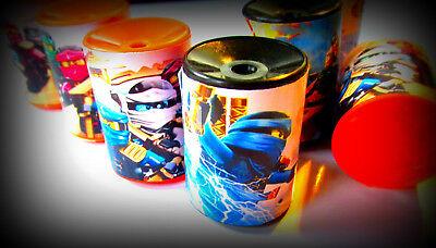 Ninja- 8 Mini Prisms -Party Favors Birthday Pinata Prizes Loot Ninjago toys