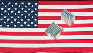 20x20x10mm-Aluminum-Heatsink-with-adhesive-motherboard-VGA-US-Seller