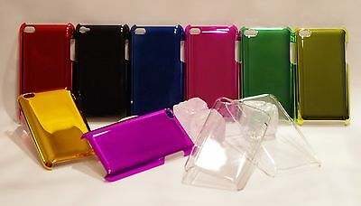 Hard Back Case für iPod touch 4  Chrom clear klar Bling Cover Schutz Hülle neu Ipod Case