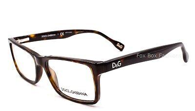 Dolce Gabbana D&G 1233 502 Eyeglasses Frame Glasses Brown Tortoise (Dolce And Gabbana Tortoise Glasses)