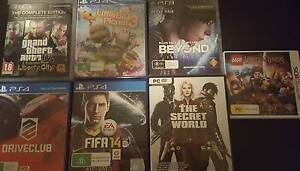 Various Games For Sale PS4/PC/3DS Pooraka Salisbury Area Preview