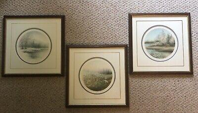 3 Vintage Signed/Numbered Arnold Alaniz Lithographs All 535/750