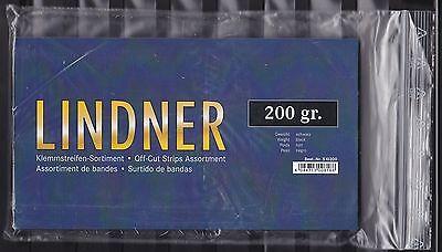LINDNER KLEMMSTREIFEN 1.WAHL  200 GRAMM schwarzem Hintergrund