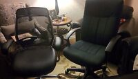 TWO MINT CONDITION COMPUTER CHAIRS NEED GONE ASAP