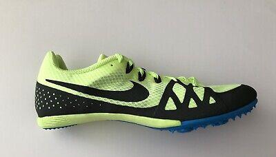new concept 7d5ea c804c Nike Zoom Rival M 8 Men Track Field Sprint Spikes Shoes 806555 703 Volt Size  11