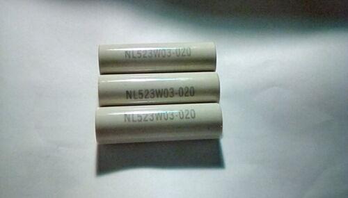 3PCS ROUND CERAMIC STANDOFF NL523W03020 3/4DIA.X 2.50L 3/8 10/32THREAD