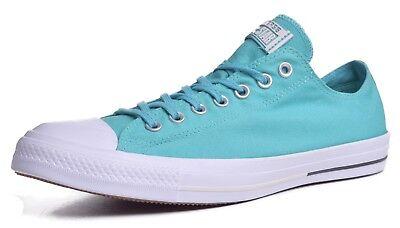 Aqua Chuck Taylors (CONVERSE Chuck Taylor All-Star Men's Low Top Aqua Athletic Shoes Size)