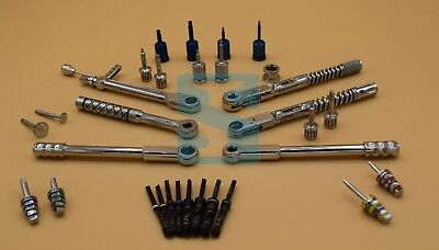 Dental Implant Torque Wrench Hex Saw Disk Drills Rachet Hand Hex Drivers Dental