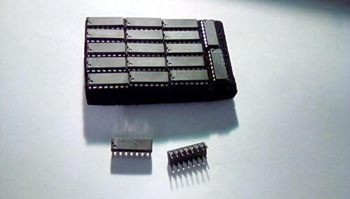 2PCS. NATIONAL DS8837N 16PIN BUS RECEIVER  I.C.