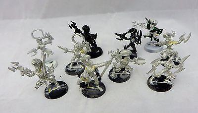 Warhammer 40K Dark Eldar Wyches   army lot   metal oop