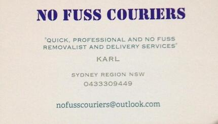 NO FUSS COURIERS Sydney City Inner Sydney Preview