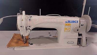 New Juki Du-1181 Single Needle Walking Foot Complete W K.d. Stand Servo Motor