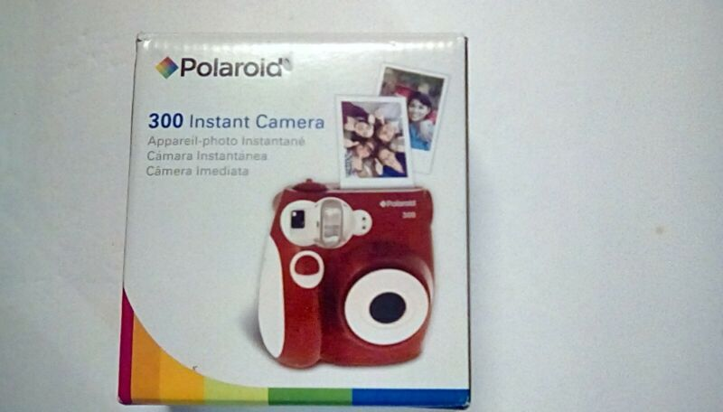 Polaroid 300 Instant Camera Red, New In Box, Never Used