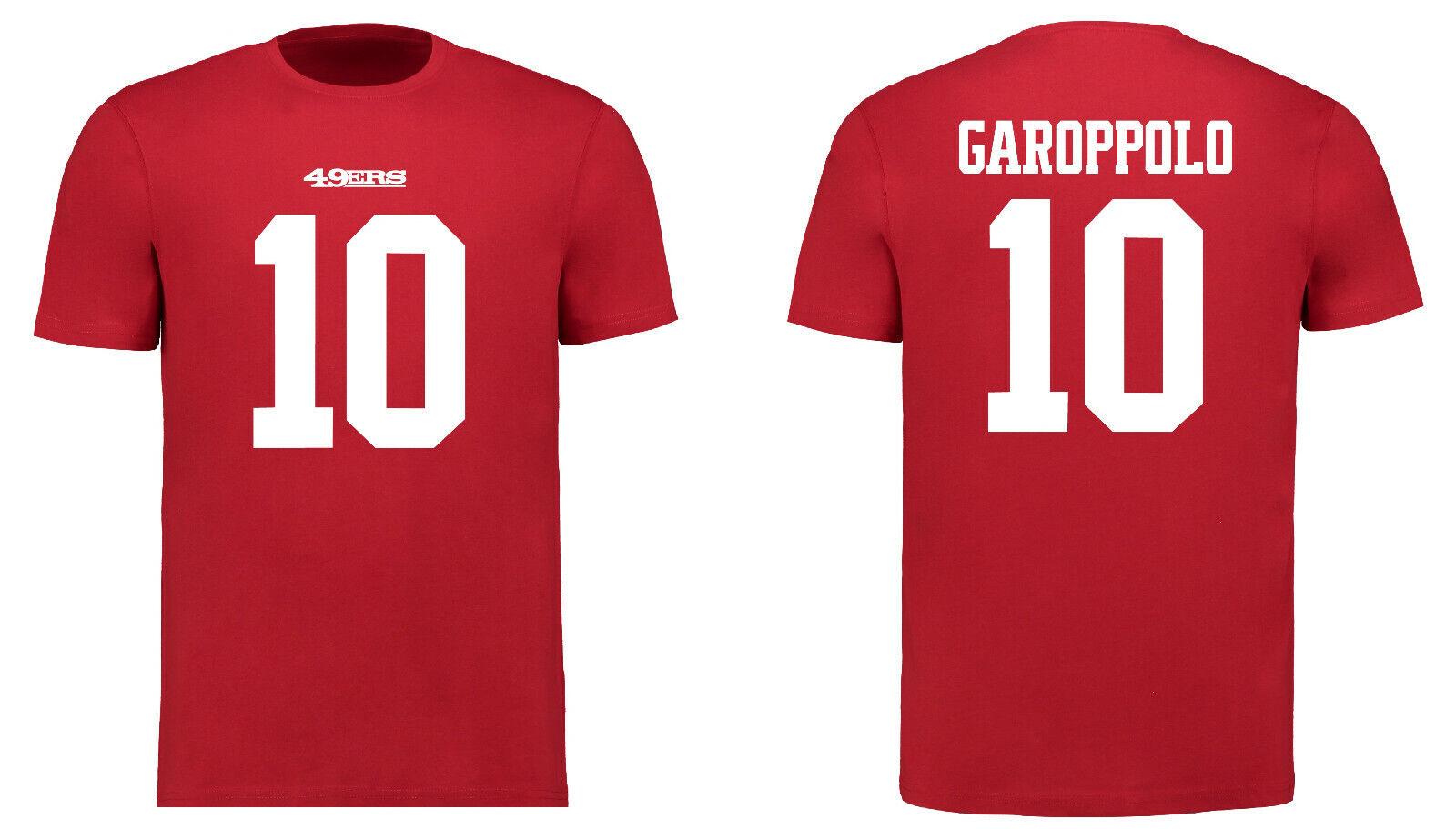 NFL T-Shirt San Francisco 49ers Jimmy Garoppolo 10 Redburn NN5 Football Trikot