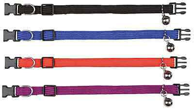 Trixie Cat Collar, Elastic, Nylon, Various Colors