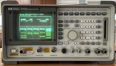 Hp 8920b Rf Comms. Test Set W Opts. 001 004 013 014 016 020 051 102 116 120