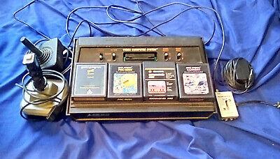 Atari 2600 (Vader w/ controllers, 4 games)