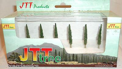 "JTT SCENERY 94216 PROFESSIONAL SERIES 1 1/2"" POPLAR TREES  6/PK  Z-SCALE"