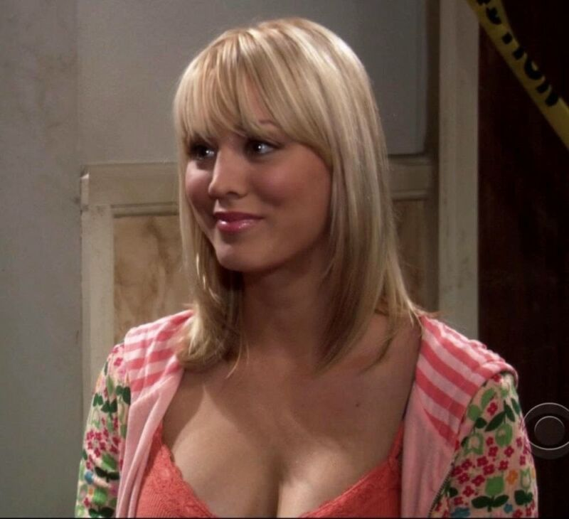 Kaley Cuoco With Straight Hair 8x10 Photo Print