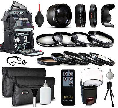 Backpack Lenses Filters Accessories for Canon EOS 6D 7D 10D 20D 30D 40D 50D DSLR