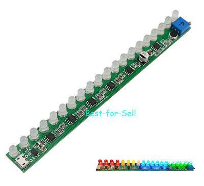 Mono Led Music Spectrum Display Analyzer Voice Audio Level Indicator Vu Meter 5v